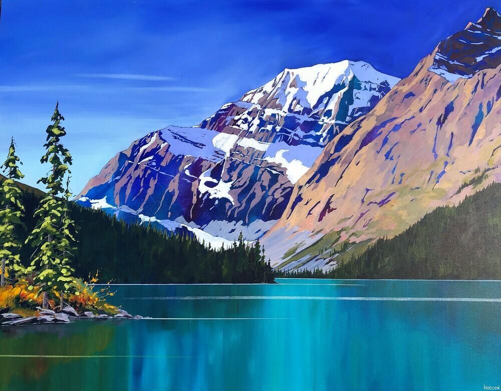 phillipa hudson - giclee mountain prints