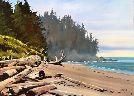 French beach, Vancouver Island