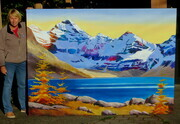 Lake McArthur near Lake O'Hara